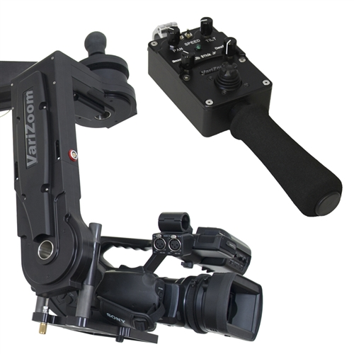 Artikelfoto VariZoom VZCINEMAPRO-JR-K5 Remote Head mit Jibstick Controller