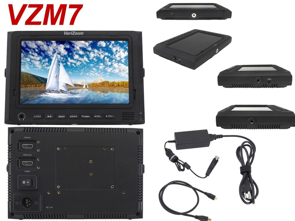 Foto VariZoom VZM7 Zoll HDMI Monitor 1024x600 pixel