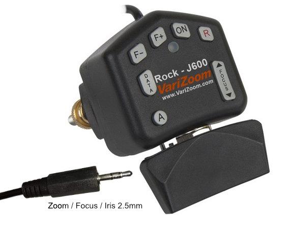 Artikelfoto 1 Varizoom VZROCK-J600 HZ-HM600VZR Hinterkamerabedienung für JVC LANC