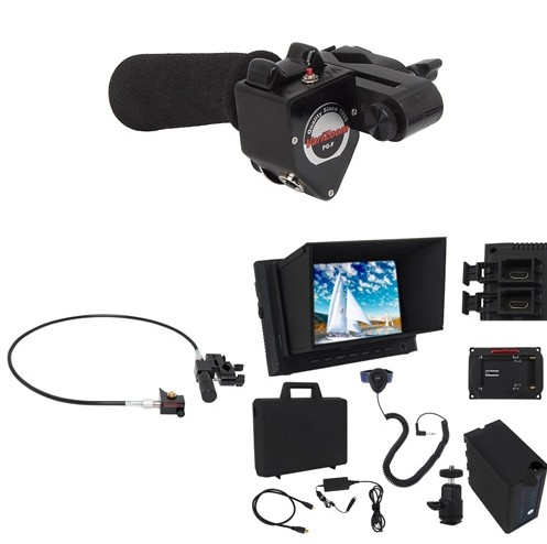 Foto VariZoom VZUSPG350 - Hinterkamerabedienung Set Sony PMW 320 350