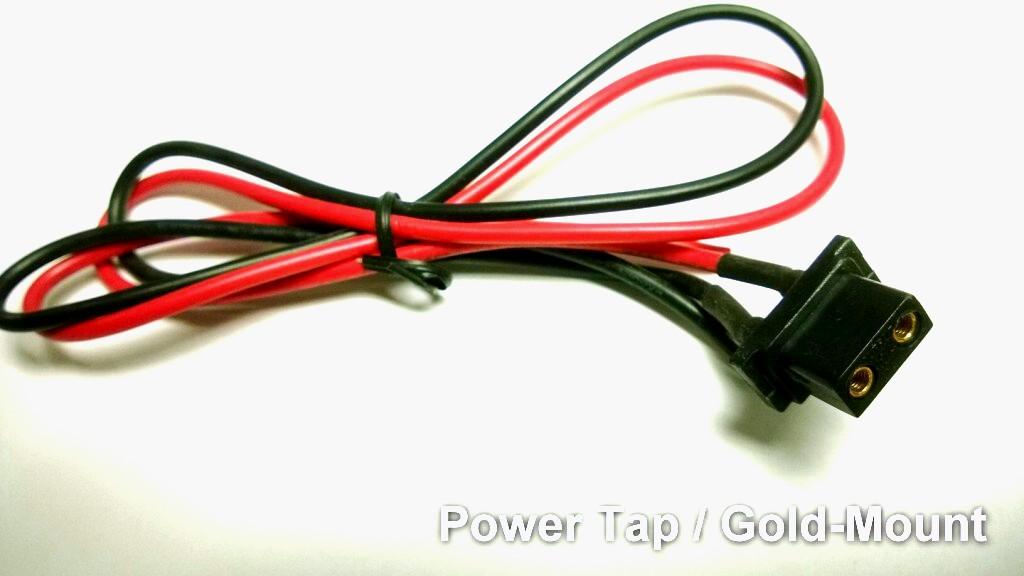Artikelfoto 1 Powertap D-TAP Kupplung Buchse mit 50 cm Kabel (female)