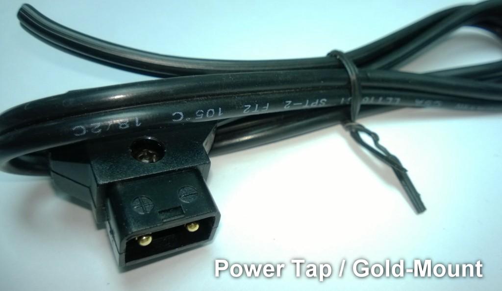 Foto Powertap D-TAP Stecker mit 50cm Kabel offen